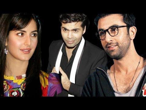 Karan Johar Teases Ranbir Kapoor On Katrina Kaif
