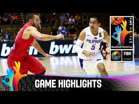 watch Philippines v Puerto Rico - Game Highlights - Group B - 2014 FIBA Basketball World Cup