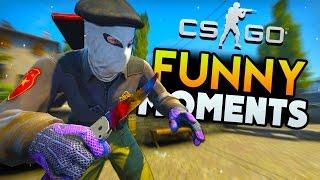 CS:GO Funny Moments - Clutches, NA Flashbang, Terrible Aim! (CS:GO Funny Moments)