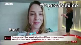 ASI VIO EL MUNDO EL TEMBLOR DEL 19 DE SEPTIEMBRE- Recopilación  #FuerzaMexico