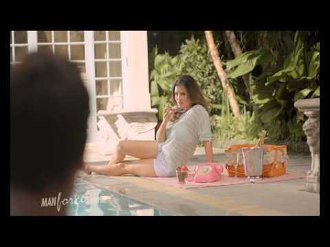 Xxx Mp4 Sunny Leone Strawberry Flavored Manforce Condom Commercial UNCENSORED 3gp Sex