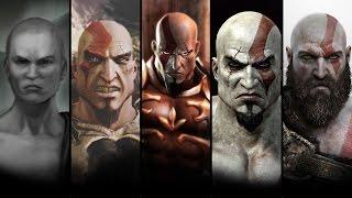 L'histoire complète de kratos le film (god of war ascension, chains of olympus, 1, ghost, 2, 3,)