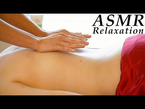 Relaxing ASMR Massage # 2 , Softly Spoken & Gentle Whisper Full Body Massage, Back Massage