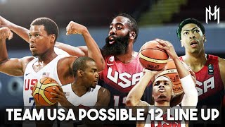 Team USA Possible Final 12 Line-Up | NBA Stars, Ang Lakas! | FIBA World Cup 2019