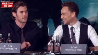 Why Loki Is Better Than Thor - Tom Hiddleston & Chris Hemsworth - Thor The Dark World