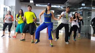 Zumba-Sexy Bam Bam by Honduras Dance Crew