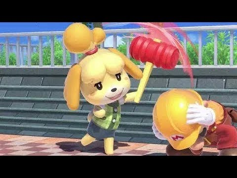 Isabelle Reveal Welcome to Animal Crossing Reaction Compilation 40 Reactions