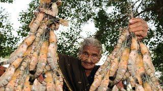 Prawns Recipe | Prawns Tikka Recipe By Granny Mastanamma