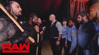 The Shield are forced to leave the building: Raw, Sept. 10, 2018