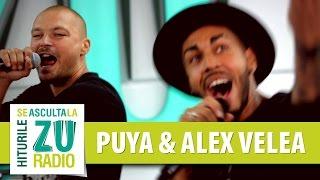 Puya si Alex Velea - Sus pe bar (cu Golden Boy Society - Live la Radio ZU)
