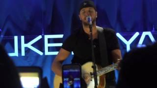 Acoustic Performance of Home Alone Tonight (Live) by Luke Bryan