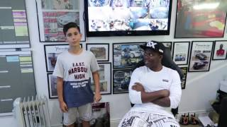 KSI Chills with Fans and his New Lamborghini