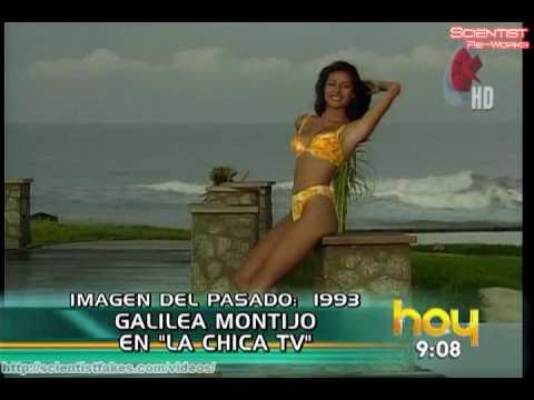 Galilea Montijo Bikini de Jovencita