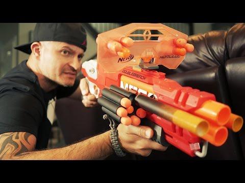 NERF GUN WAR 4 GunVsGun