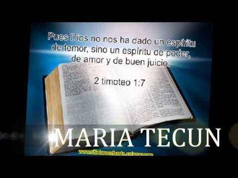 MARIA TECUN VOY POR EL MUNDO A PREDICAR
