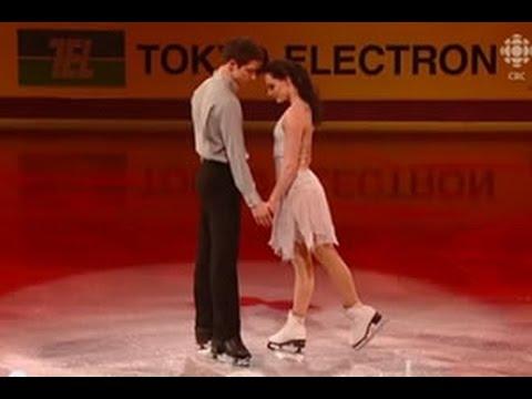 Engelbert Humperdinck Spanish Eyes tańczą Tessa Virtue i Scott Moir
