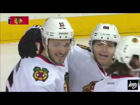Anisimov finishes off beautiful passing by Blackhawks
