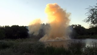 Huge Tannerite Explosion