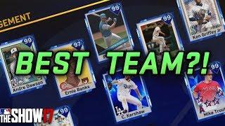 Best Team In MLB The Show 17?! [TEAM UPDATE] [DIAMOND DYNASTY]
