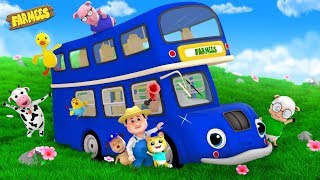 Wheels On The Bus | Kindergarten Nursery Rhymes for Children | Song For Kids by Farmees