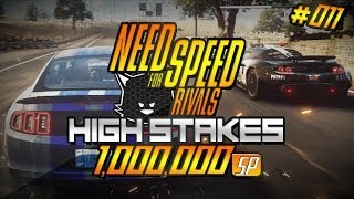 Need for Speed Rivals High Stakes #11 | Ford Mustang GT (2014) Movie Special | 1,000,000 SP [Part 2]