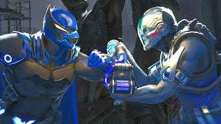 Injustice 2 - Batman Vs Mr Freeze - All Intro Dialogue/All Clash Quotes, Super Moves
