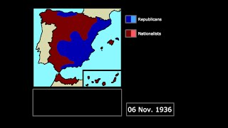 [Wars] The Spanish Civil War (1936-1939): Every Fortnight