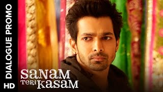 Inder is an angry lover | Sanam Teri Kasam | Dialogue Promo