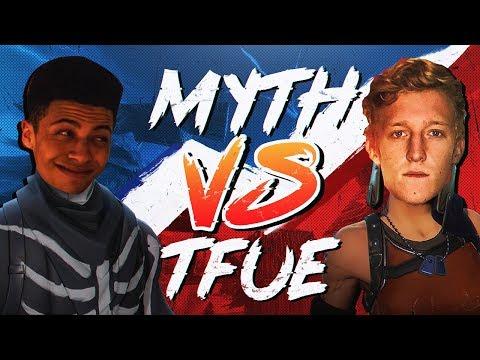 Myth vs Tfue Pro Playgrounds 1v1 BUILD BATTLES
