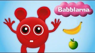 Språklek med Babblarna - Frukter (Bobbo)