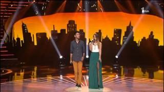 Ivana Pavkovic i Filip Bozinovski - 1200 milja - (LIVE) - Zvezde Granda - (Tv Prva 2015)