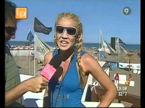 Dallys Ferreira Malla azul