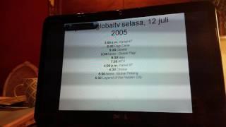 jadwal globaltv hari ini selasa, 12 juli 2005