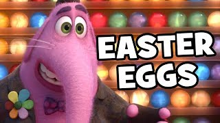 Inside Out Top 10 Easter Eggs - Pixar, Pizza Planet, Toy Story, Finding Nemo, The Good Dinosaur, Up