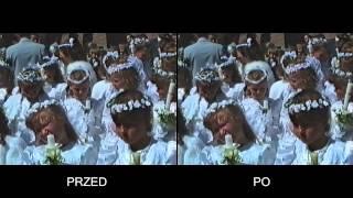 Rekonstrukcja cyfrowa materiału VHS - TEST