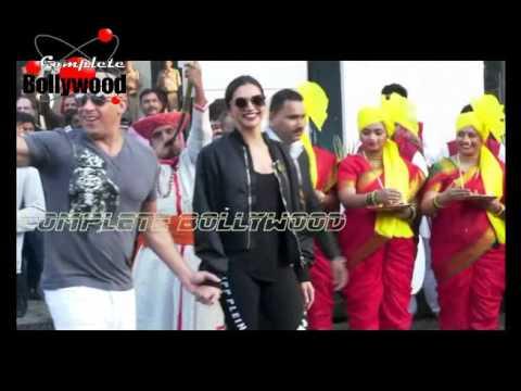 Xxx Mp4 Deepika Padukone Welcomes XXx Co Star Vin Diesel With Marathi Women Bike Riders 3gp Sex