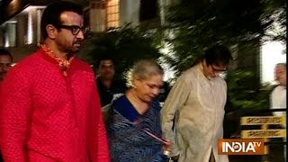Ronit Roy Hosts 'Mata Ki Chowki' on His Birthday; Big B, Tabu Attend the Event - India TV