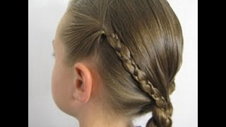 Uneven 3 Strand Braid | Back-to-School Hairstyle | BabesInHairland.com