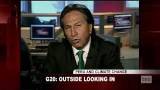 Alejandro Toledo: G20, Outside Looking In