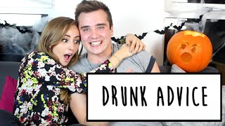 DRUNK ADVICE WITH CALUM MCSWIGGAN | Hannah Witton