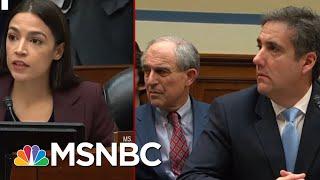 Rep. Alexandria Oscasio-Cortez And Rep. Ayanna Pressley Question Michael Cohen | MSNBC