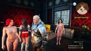 The Witcher 3 Triss and Yennefer are prostitutes (Naked)