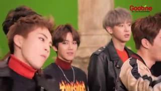 [VID] EXO - Making of Goobne Chicken CF -EXO[[BTS]