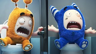 Oddbods New Funny Episodes Compilation | Toilet Pranks | Cartoons For Children