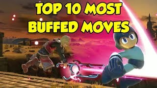 These 10 Moves Received *INSANE* BUFFS in Smash Ultimate...