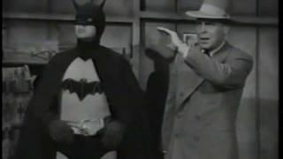 superman meets batman B&W