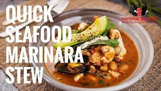 Quick Seafood Marinara Stew | Everyday Gourmet S8 E30