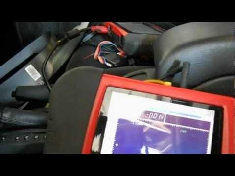 2004 Chrysler Sebring No Bus message in cluster testing