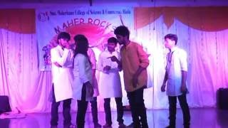 The best comedy drama plus Nationality performance, must watch at meherbanu college