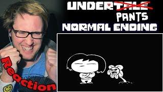 Underpants - Normal Ending (Undertale Parody) REACTION! | NO...NO! |
